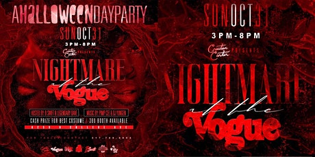 Nightmare at The Vogue: A Halloween Day Party tickets