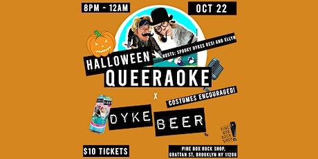 Halloween Queeraoke! tickets