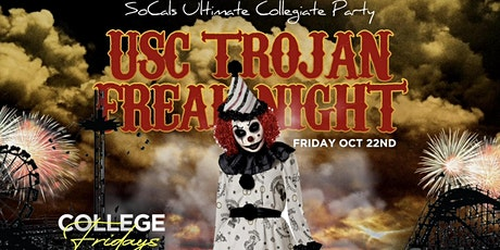 COLLEGE FRIDAYS @ CATCH ONE LA 18+/ USC TROJAN FREAK NIGHT/ HALLOWEEN PARTY tickets