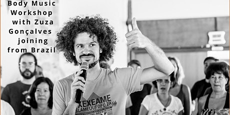 BODY MUSIC WORKSHOP with Zuza Gonçalves tickets
