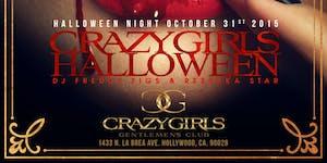 Crazy Girls LA 2015 Halloween Haunted Strip Club