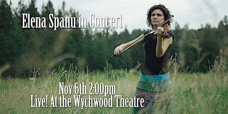 Elena Spanu in Concert tickets