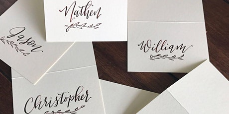 Holiday Place Cards – Calligraphy Place Cards Workshop tickets