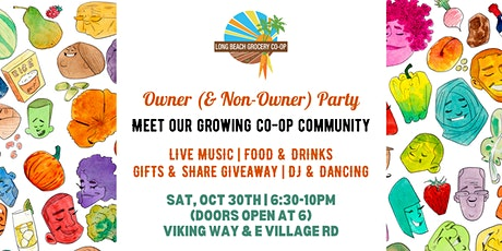 Long Beach Grocery Co-op Owner (& Non-Owner) PARTY! tickets