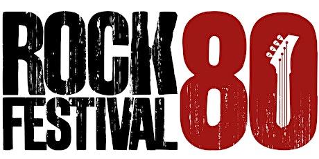 Rock 80 Festival JPA (grátis) - 19 a 21/11/2021 - Rio Office & Mall ingressos