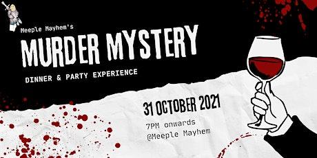 Meeple Mayhem's Murder Mystery Dinner tickets