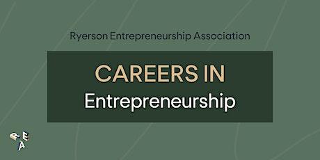 Careers in Entrepreneurship tickets
