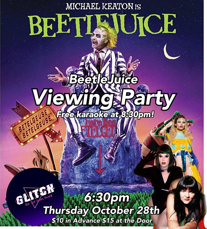 Beetlejuice Viewing Party image