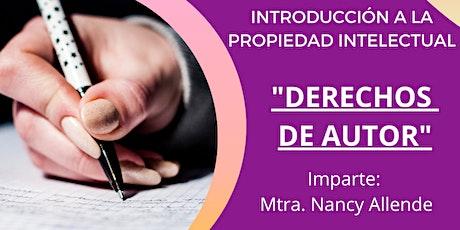 Introducción a la Propiedad Intelectual: Derecho de Autor entradas