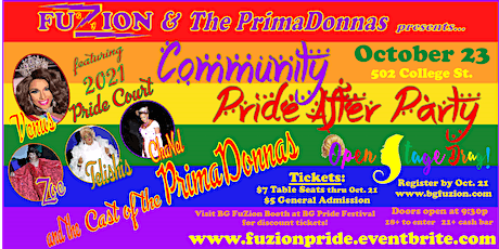 Community Pride After Party tickets