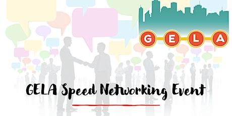 GELA Speed Networking 2021 tickets