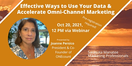 Effective Ways to Use Your Data & Accelerate Omni-Channel Marketing tickets