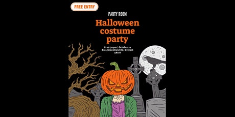 Party Room: Halloween costume party tickets