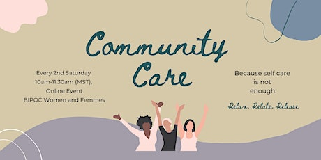 November Community Care for BIPOC Women and Femmes tickets