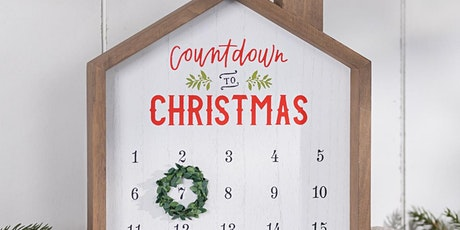 Free Virtual Workshop - Countdown To Christmas - Paint DIY - Virtual Party tickets