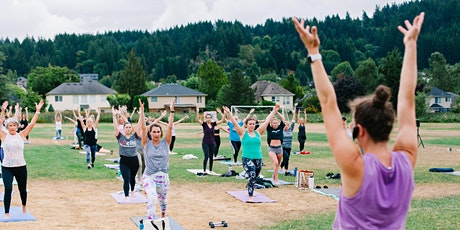 Barre3 FREE 45-Minute Outdoor Class at Happy Valley Park tickets