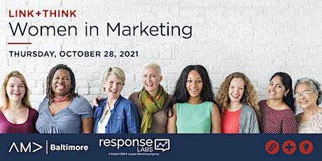 Link+Think: Women in Marketing biglietti