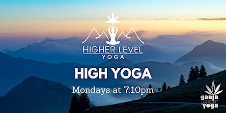 Mondays - High Yoga tickets