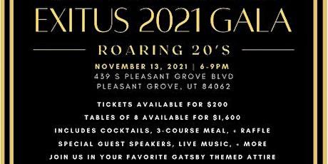 EXITUS 2021 GALA: Roaring 20's tickets