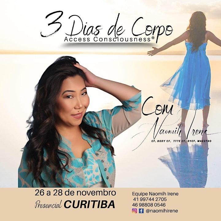 Imagem do evento 3 Dias de Corpo de Access Consciousness - curso presencial (Curitiba/PR)