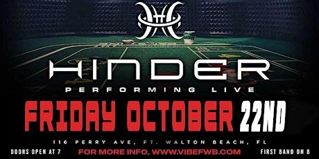 HINDER Live at Vibe Nightclub tickets