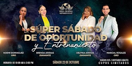 SUPER SABADO DE OPORTUNIDAD Y ENTRENAMIENTO tickets