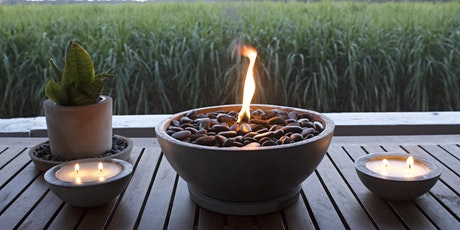 Table Top Fire Pit and Candle Workshop $85 tickets