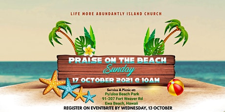 Praise On The Beach Sunday tickets