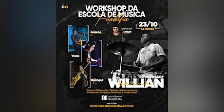 Workshop da Escola de Música Filadélfia tickets