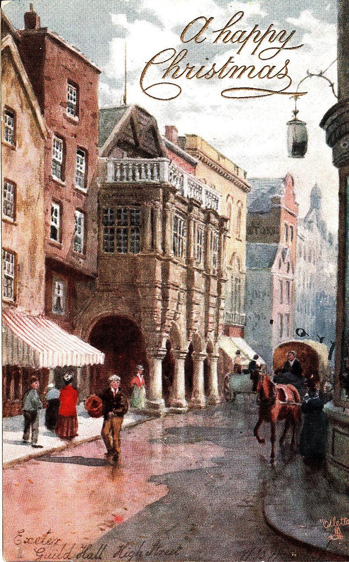 History of Christmas in Devon. Talk for Members image