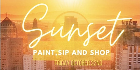 Paint, Sip and Shop tickets