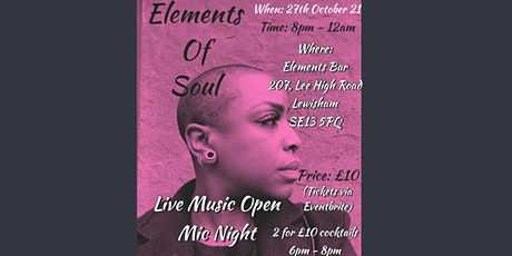 Elements Of Soul tickets