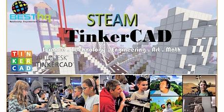 BESThq's Virtual STEAM TinkerCAD Night (10/26) tickets