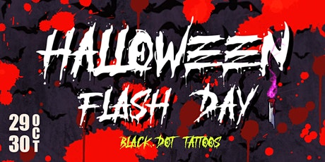 Black Dot Tattoos' Halloween Flash Day tickets