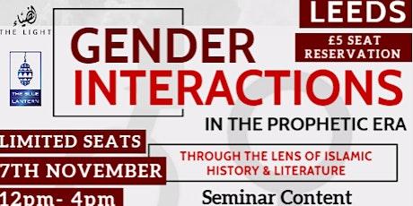 Gender Interactions In The Prophetic Era tickets