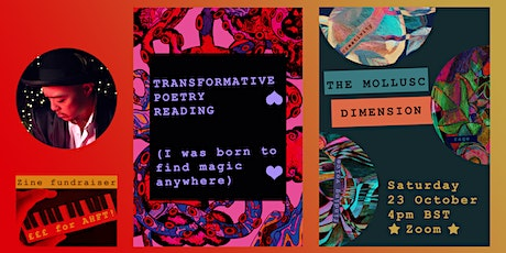 Transformative Poetry Reading (I was born to find magic anywhere) tickets