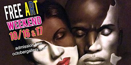 FINAL DAYS - FREE ART WEEKEND - Fall Art Show and Sale tickets
