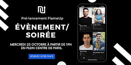 Pré-lancement FlameUp tickets