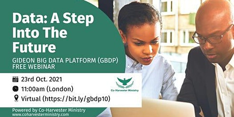 Gideon Big Data Empowerment Free Webinar!! tickets
