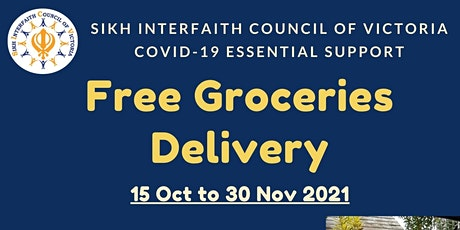 FREE GROCERIES - COVID-19 ESSENTIAL SUPPORT (Phase 3) tickets