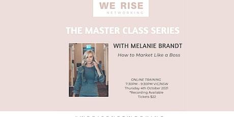 Women in Business Master Class Series November tickets