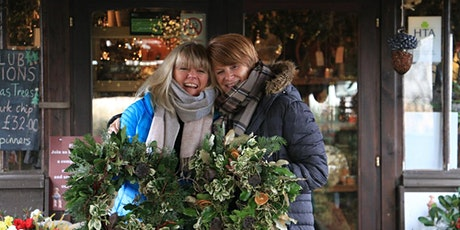 Holly Wreath Workshop With Jacky and Peter 11th Workshop Monday 13 Dec 21 tickets