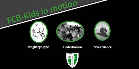 FCB-Kids in motion Tickets