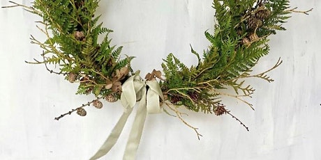 Lavender & Rose Classic Christmas Wreath Making Workshop at The Hill House tickets