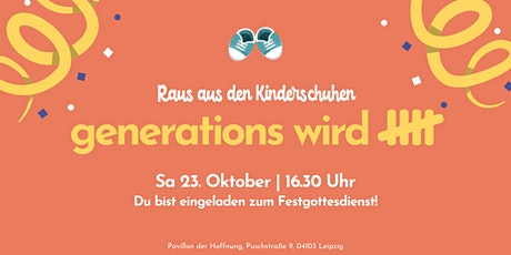 Geburtstagsparty - Generations wird 5! Tickets