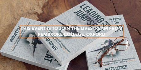 LIVESTREAM!  Book Launch - 'Leading From The Jumpseat' by Peter Docker tickets