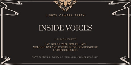 Inside Voices Launch Party tickets