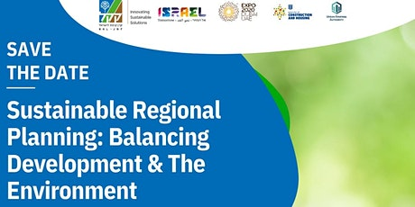Sustainable Regional Planning: balancing Development & The Environment tickets