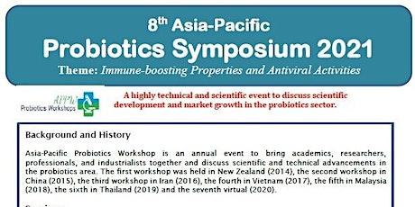8th Asia-Pacific  Probiotics Symposium 2021 tickets
