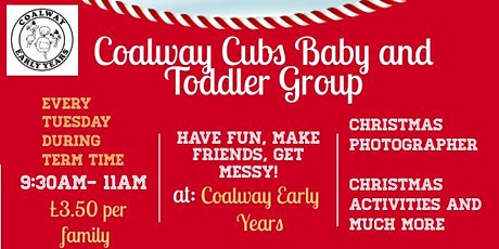 Coalway Cubs Baby and Toddler Group tickets